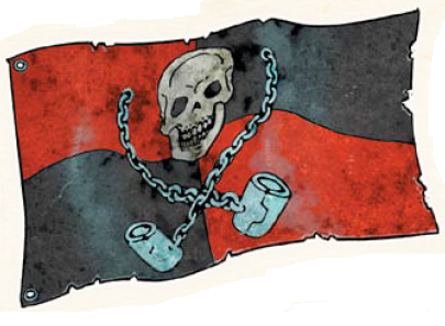 Shackles flag