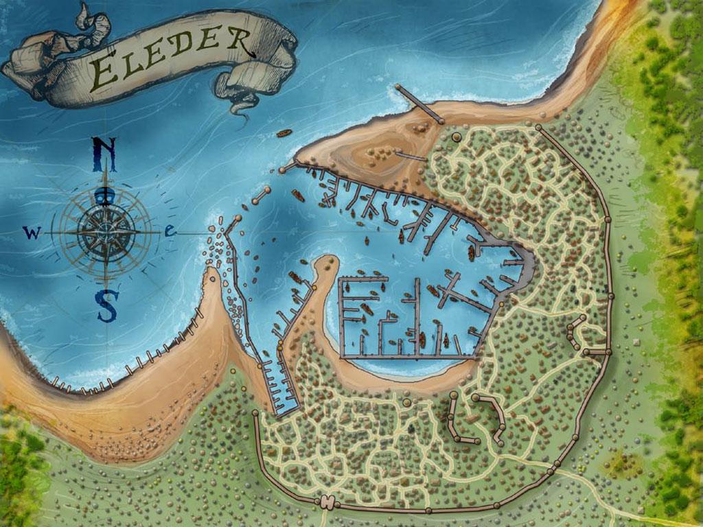 Eleder Map