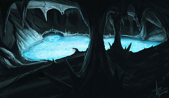Underground lake
