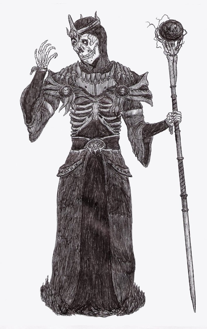 The arch lich by retributionofsilence d39re67