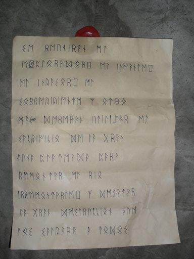 Carta antigua 3