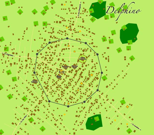 Delphino map
