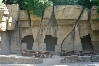 Old zoo ruins