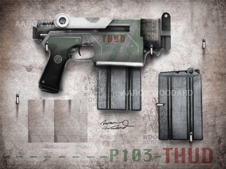 P103 thud