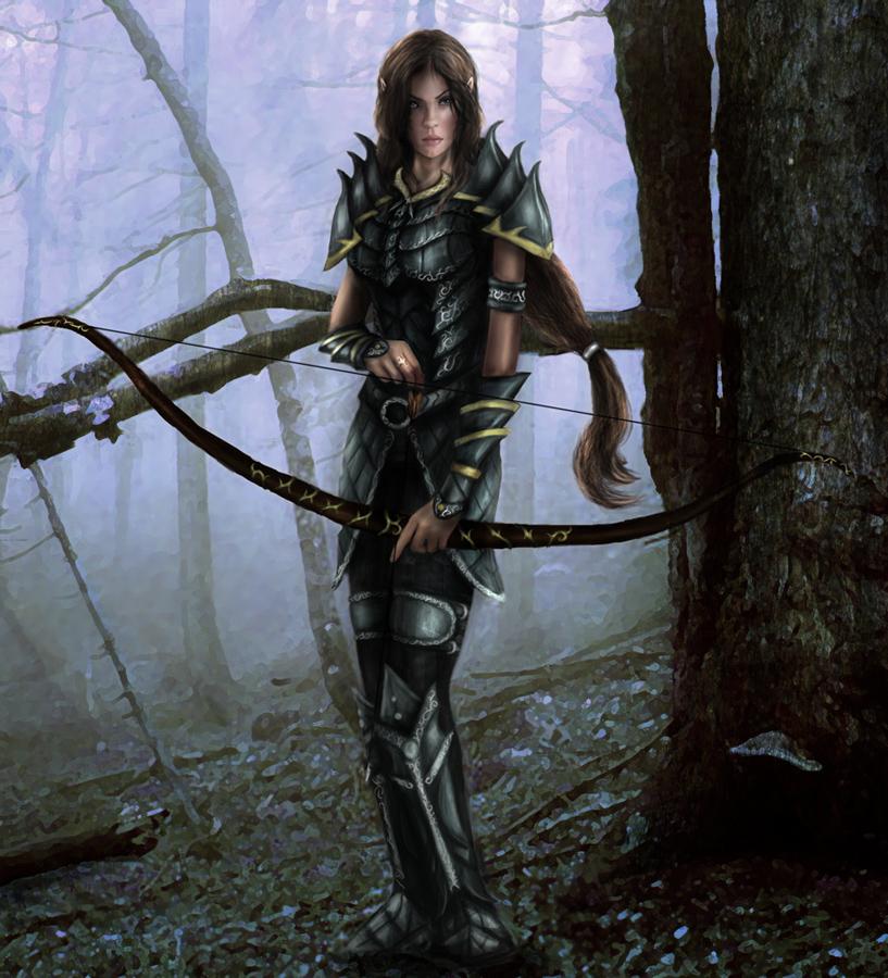 Elf archer by eternal lords team