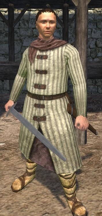 [Human] Jorrundr Lotharsson: Veteran Warrior Gambeson2