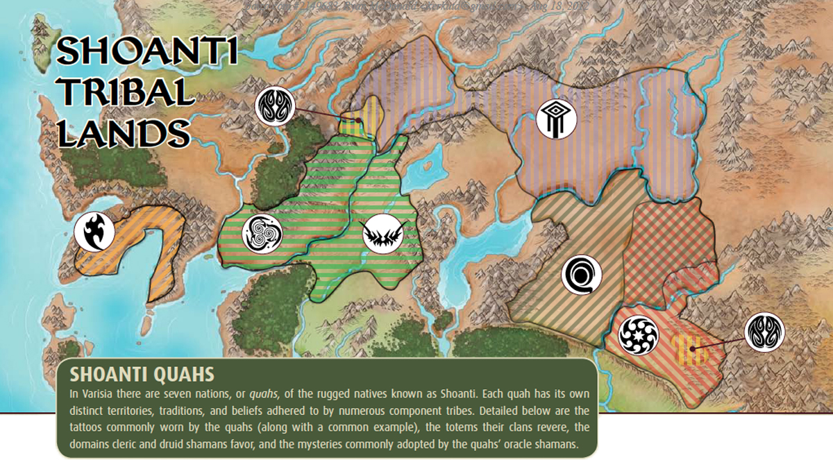Shoanti map