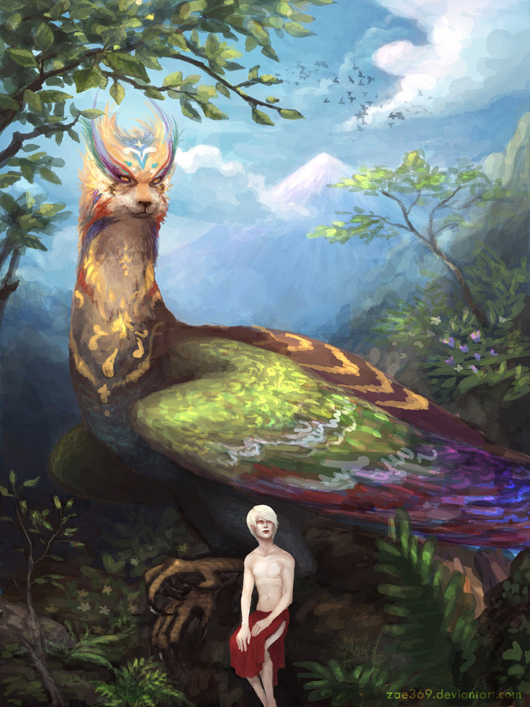 Zal and the simurgh by zae369 d2uldje
