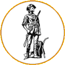 Sand springs high school minuteman logo