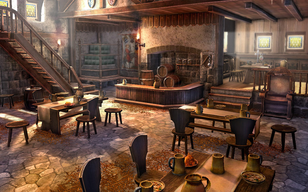 Artwork tavern