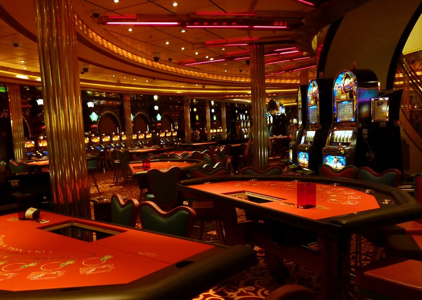 Casino mezzanine floor