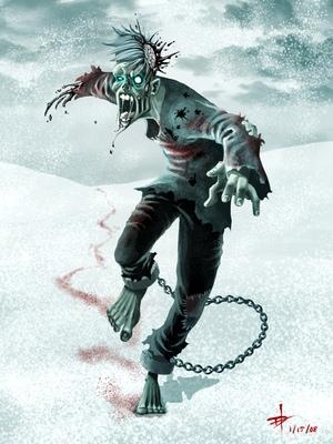 Ice zombie