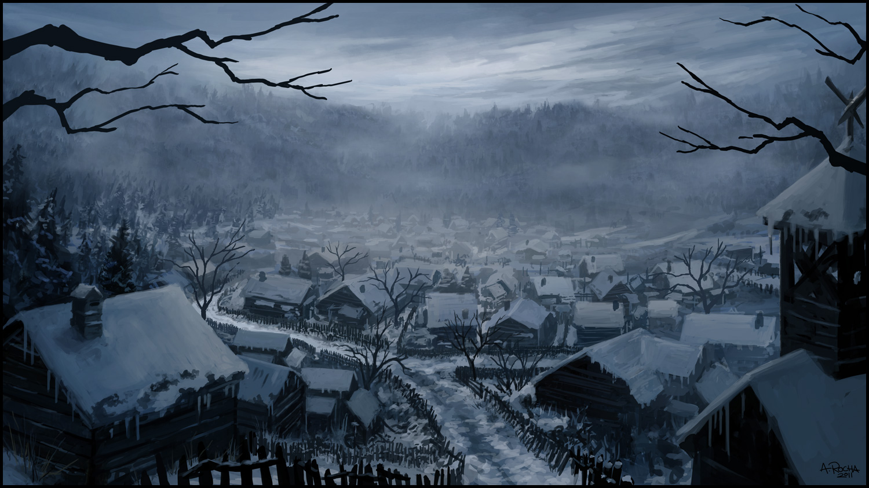 Winter village by andreasrocha d4uebbu