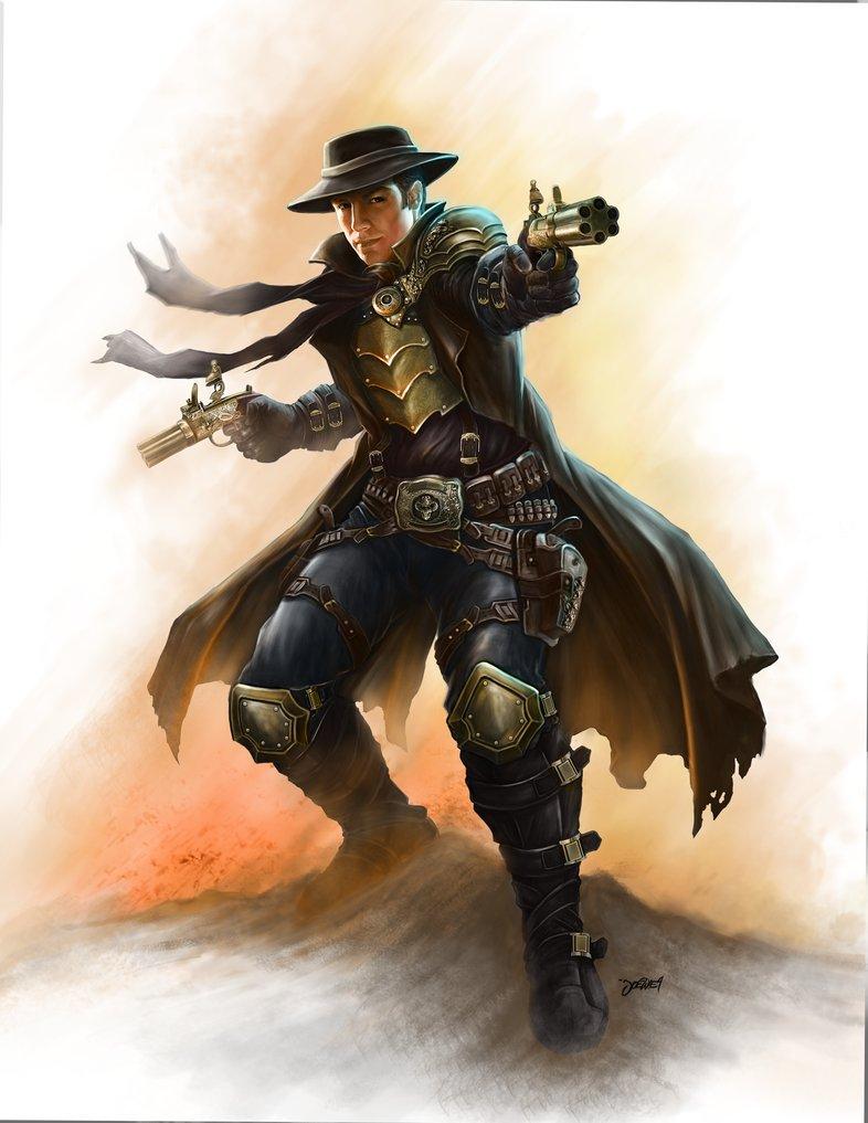 Steampunk gunslinger by loztvampir3 d4cucrv