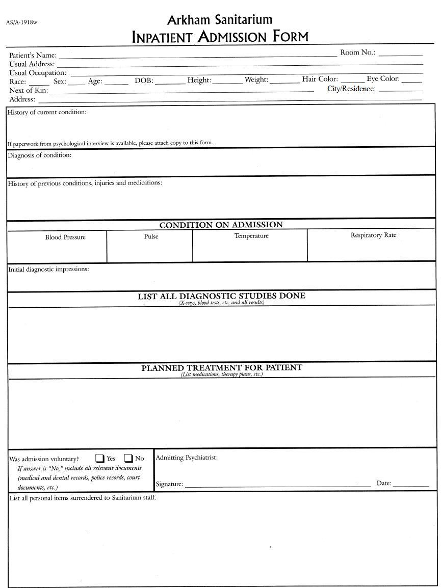 athletic entry form
