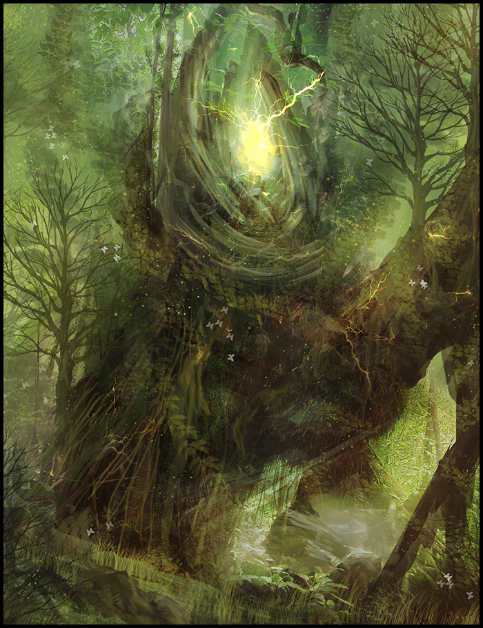 Forest heart
