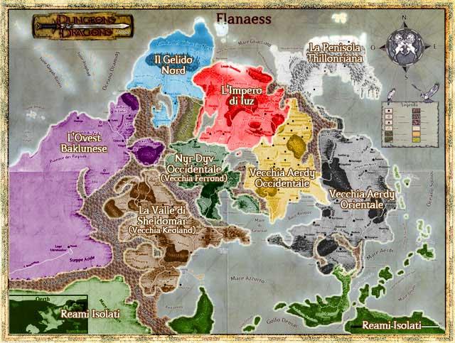 Mappa zone flanaess