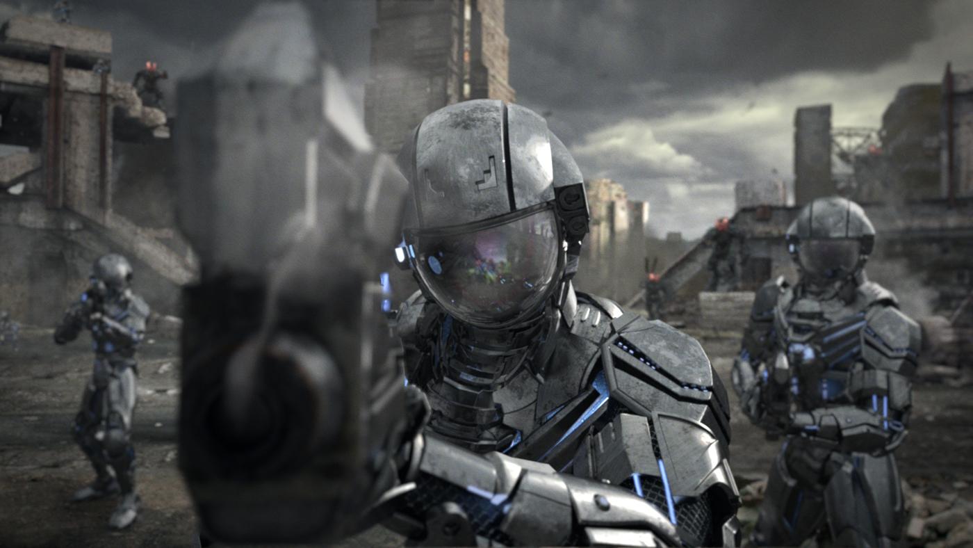 Kia robot soldiers