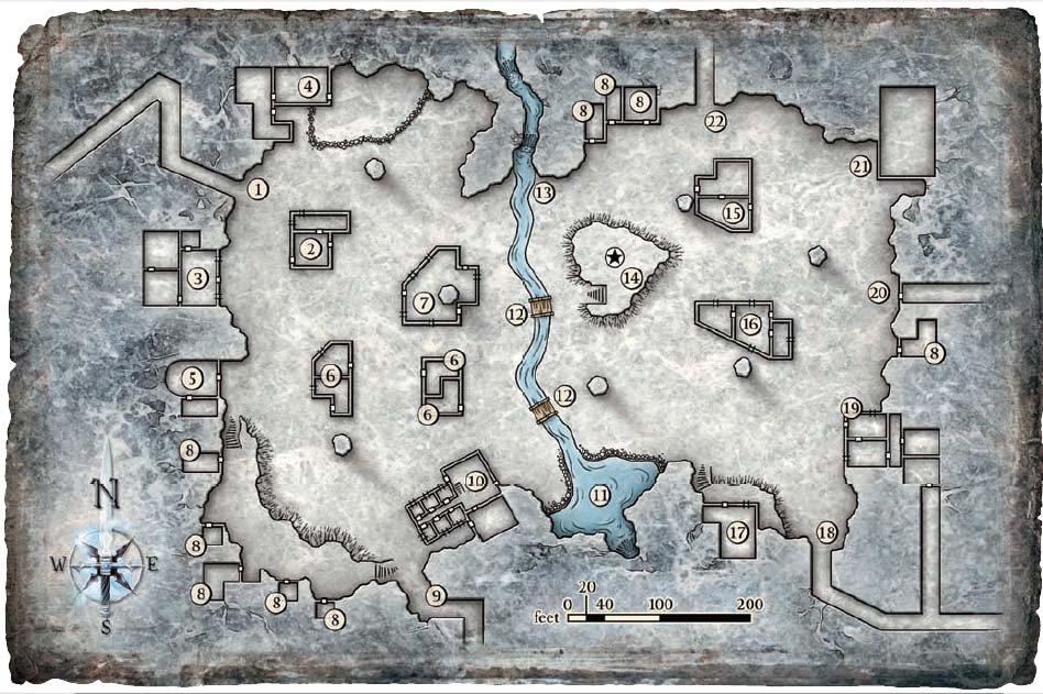 Map dm 7 pillared hall
