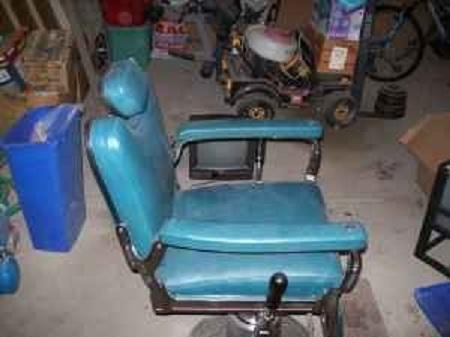 Cool 1950 s old school barber chair tattoo or salon 250 bath n y 9249778