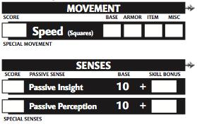 Character sheet 5