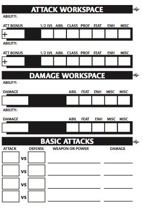 Character sheet 6