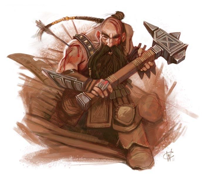 A male dwarf.