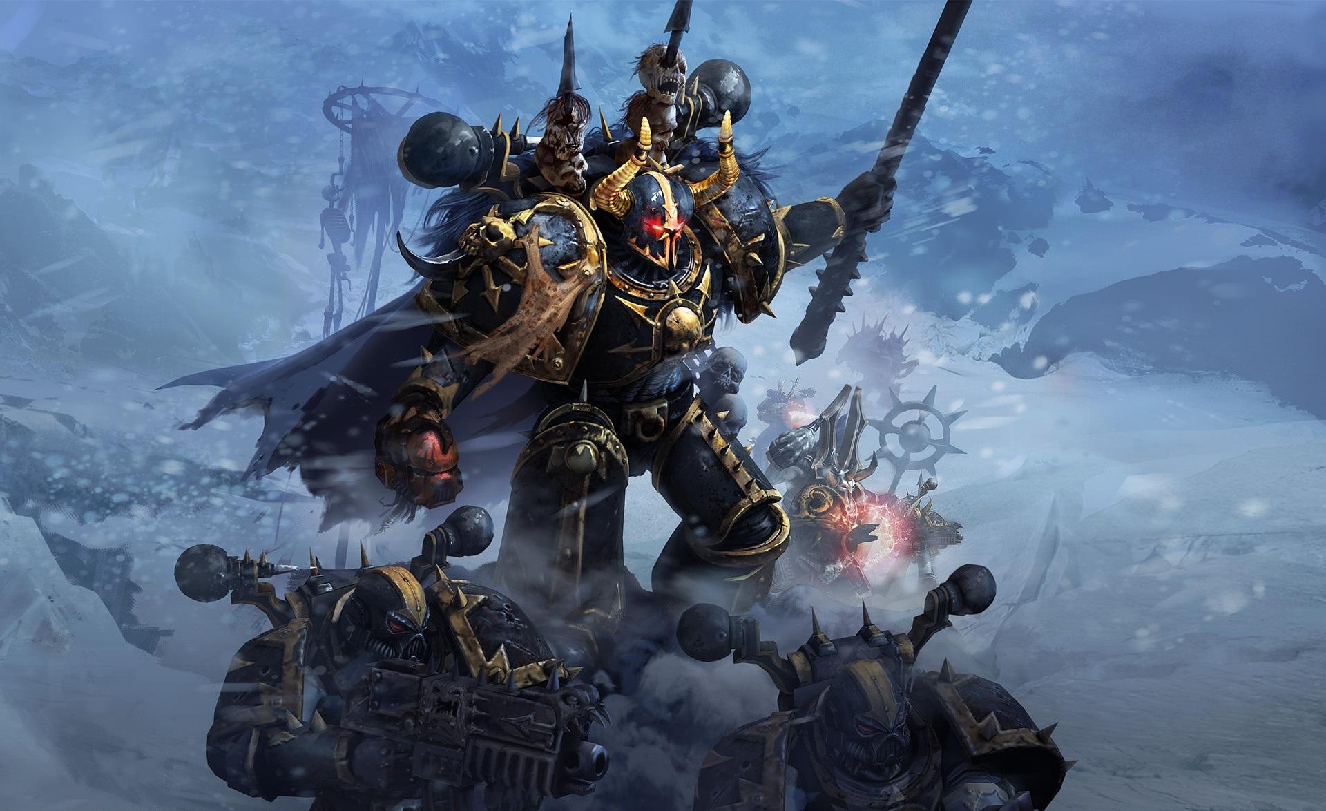 Warhammer 40000 dawn of war 2 chaos rising wallpaper 01