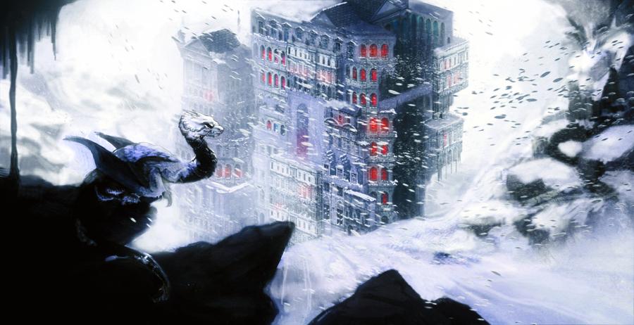 Snow castle v 2 by checkercherries d4rfwnf