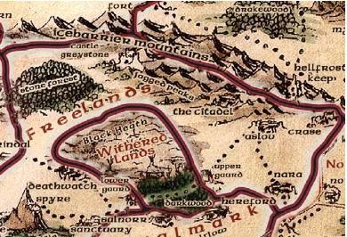 Freelands area