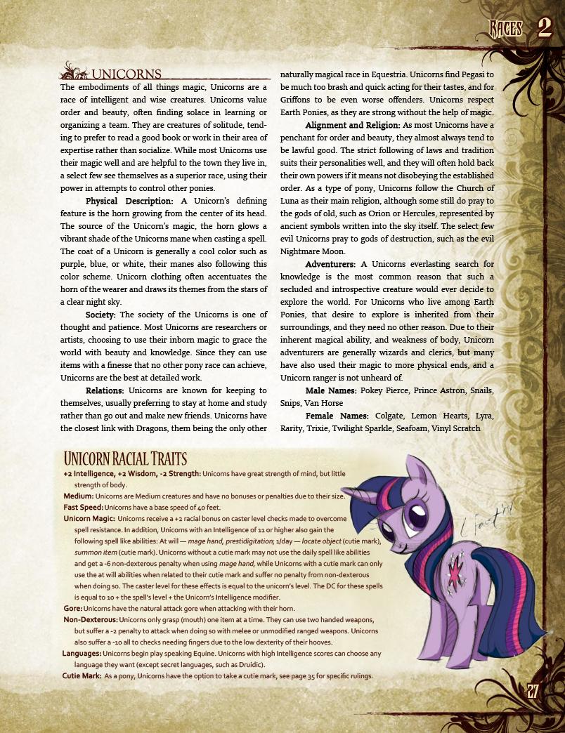 Ponyfinder unicorn