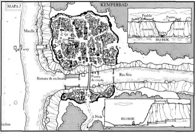 Mapa de Kemperbad