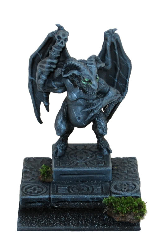 Orcus statue