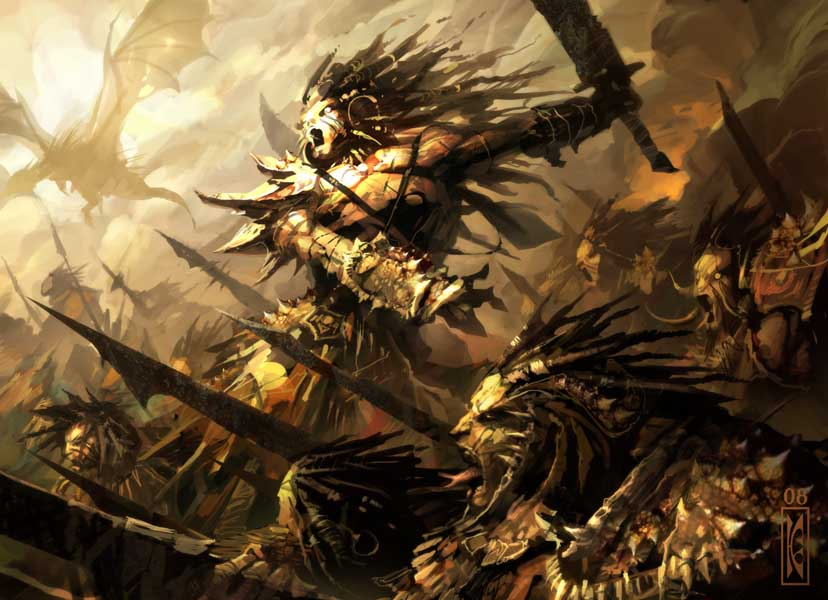 Ashaendarei and the chaos elves