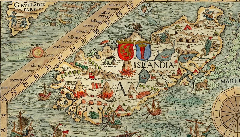 Iceland  carta marina