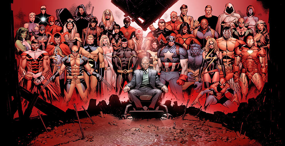 House of m1 gatefold