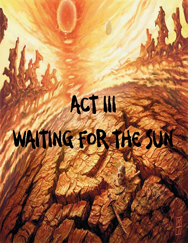Act iii waiting