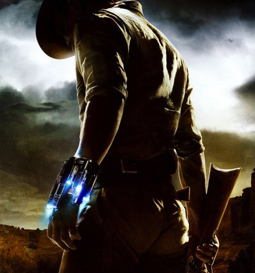 Cowboys and aliens poster 0