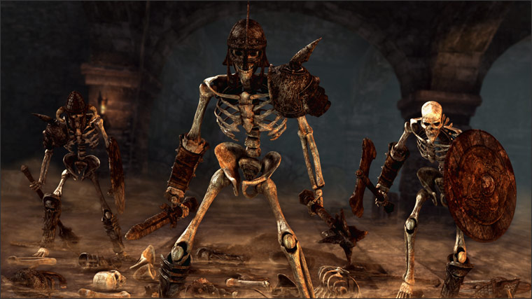 Lo s skeleton warrior