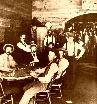 Poker in the old west 500