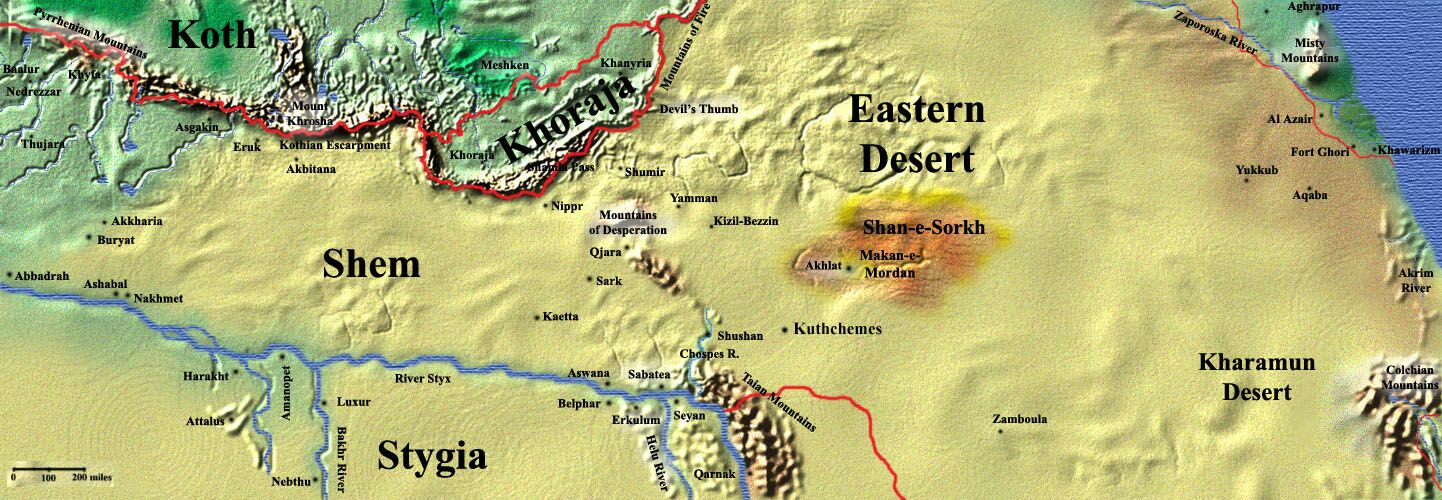 Vd eastern desert