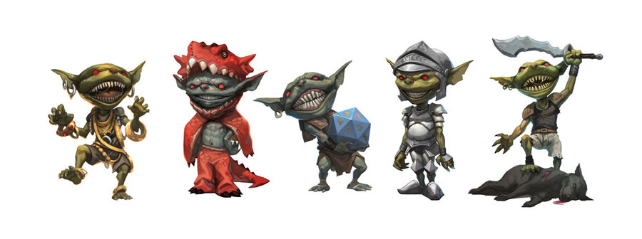 Goblins set by njoo d33keiv