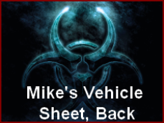 Mike's vehicle Sheet 2