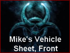 Mike's Vehicle Sheet 1