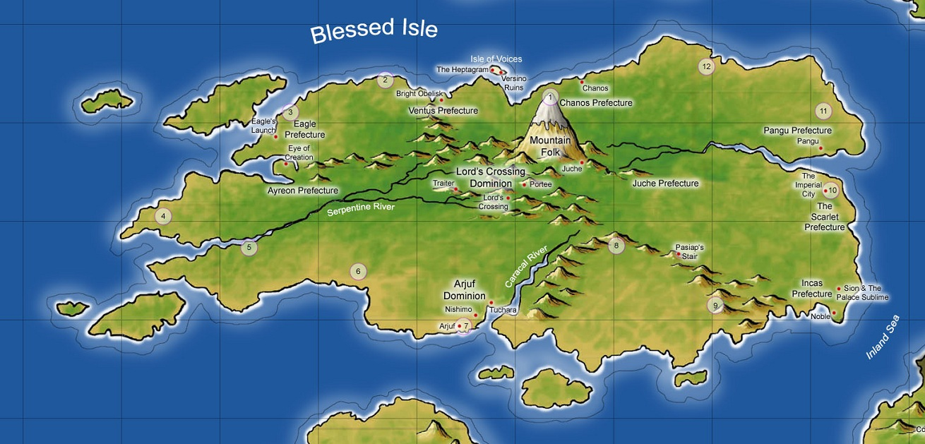 Blessed Isle | A Contest of Ni...