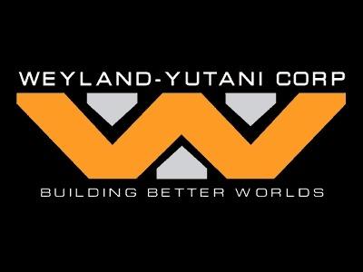 Weyland yutani corp logo 8x6