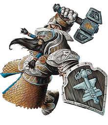 Dwarven cleric torag