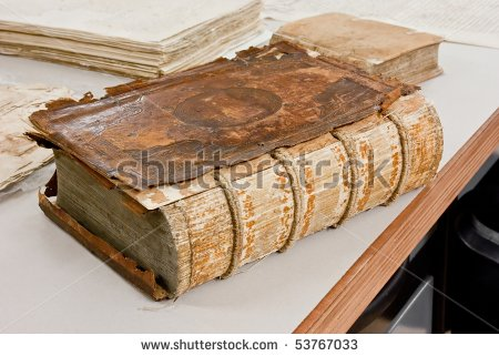 Stock photo laboratory restoration ancient books 53767033
