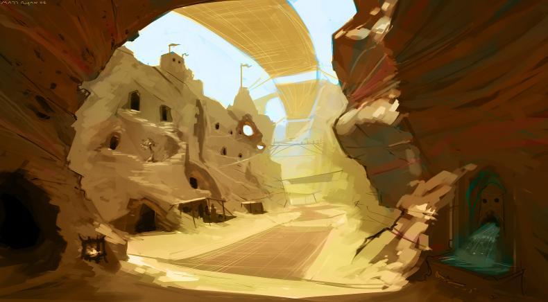 M desert city concept art