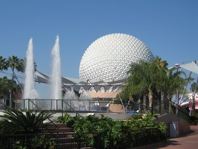 Epcot spaceship earth picture 002